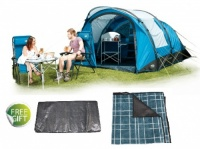 Royal Portland Air 4 Berth Tent + FREE Footprint Groundsheet & Tent Carpet